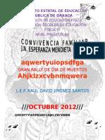 Rally de Día de Muertos Preescolar