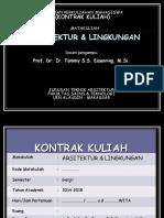 0 - Kontrak Kuliah Ars. & Lingk.