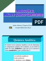 INTRODUCCIÓN AL  ANÁLISIS QUÍMICO CUANTITATIVO