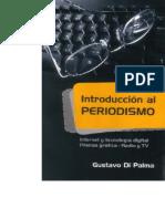 Portada-Introduccion Al Periodismo Gustavo Di Palma