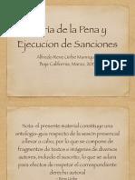 Teoria de La Pena y Ejecucion de Sanciones