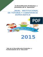 Plan Anual Tutoria de Inicial2015