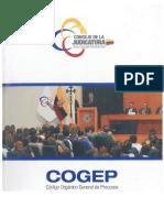 Portada - - COGEP - - Código Orgánico General de Procesos