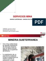 Caracteristicas de La Mineria