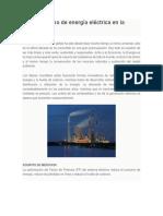 Ahorro Óptimo de Energía Eléctrica en La Industria