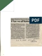 ANZA 3°-Parte ITALCEMENTI ORDINE CRONOLOGICO DELLE CONFERENZE DI SERVIZI A I A ALTRE CONFERENZE FUORI DALLA PROCEDURA A.I.A..compressed