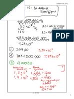 Classe 10-Notation Scientifique