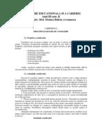 Consiliere Educational A Si a Carierei - Manual, An 3 Sem. II