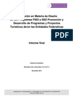 Evaluacion Diseno Informe Programas F003 e I002