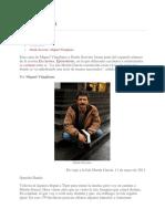 Miguel Vitagliano, Carta a Dardo Scavino
