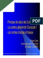 M. FRANK - Principes de Calcul Des Eurocodes Le Contenu Genera-3