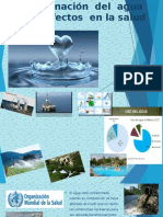 La contaminacion del agua y sus efectos en la salud