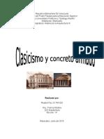 Historia de La Arquitectura - Clasismo Concreto Armado