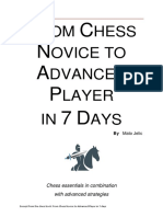 From Chess Novice to Advanced Player in 7 Days [Excerpt] (Mato Jelic)