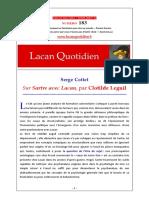 LQ-1833 Sartre Avec Lacan