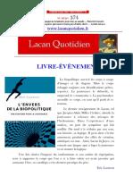 LQ-574-2 Laurent, El Reverso Del Goce.