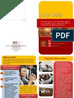 Jury Duty Brochure