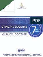 7grado CIENCIAS SOCIALES Guia Del Docente