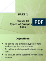 1-6 Types of Pumps and Fans