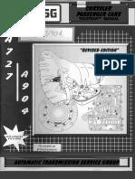 a727 a904 Transmission Manual
