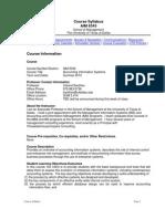 UT Dallas Syllabus for aim6343.0g1.10u taught by Indranil Bardhan (bardhan)
