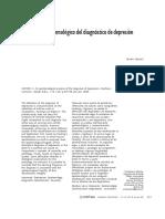 Capponi, S (2006) Un Análisis Epistemológico Del Diagnóstico de Depresión