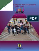 Indicadores de impacto - Bogota