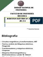 Unidad I- Ml214 Ciclo 2015-3