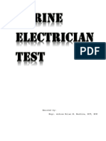 Electrician Test