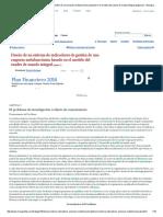 Diseño de Un Sistema de Indicadores de Gestión de Una Empresa Metalmecánica Basado en El Modelo Del Cuadro de Mando Integral (Página 2) - Monografias