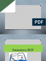 Estatutos y ROF II
