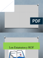 Estatutos y ROF 2