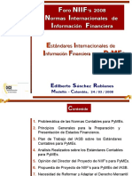 Estandares Internacionales de Informacion Financiera Para Pymes (1)