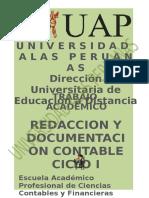 Redaccion y Documentacion Contable