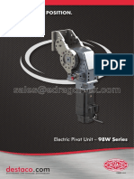 2013 dsc 98w-25 electric pivot unit brochure watermark