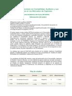 Oferta Academica Contabilidad Auditoria 15-16