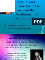 Nature and Nurture on Development of Gender Identity