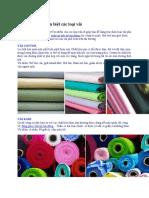 đã sửa Nhận biết và phân biệt các loại vải .docx