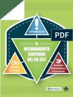 Mejoramiento Continuo Del SGSST