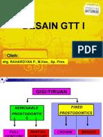 Desain GTT