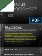 Materiales Termocromicos