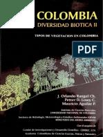 Tipos de Vegetacion en Colombia; TomoII