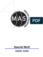 MAS Special Multi Manual