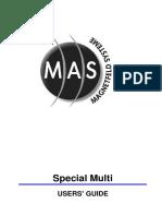 MAS Special Multi Manual