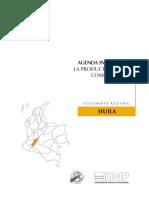 Agenda Interna Para La Competitividad y La Productividad - Documento Regional Huila