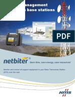 Netbiter Solution for Telecom Base Stations