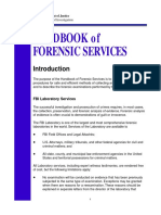 Handbook of Forensic Services FBI