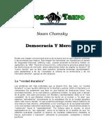 Chomsky, Noam - Democracia Y Mercados (2).doc