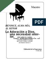 Adoracion a Dios Una Necesidad Interna
