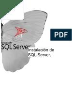 Instalacion de SQL Server scaf